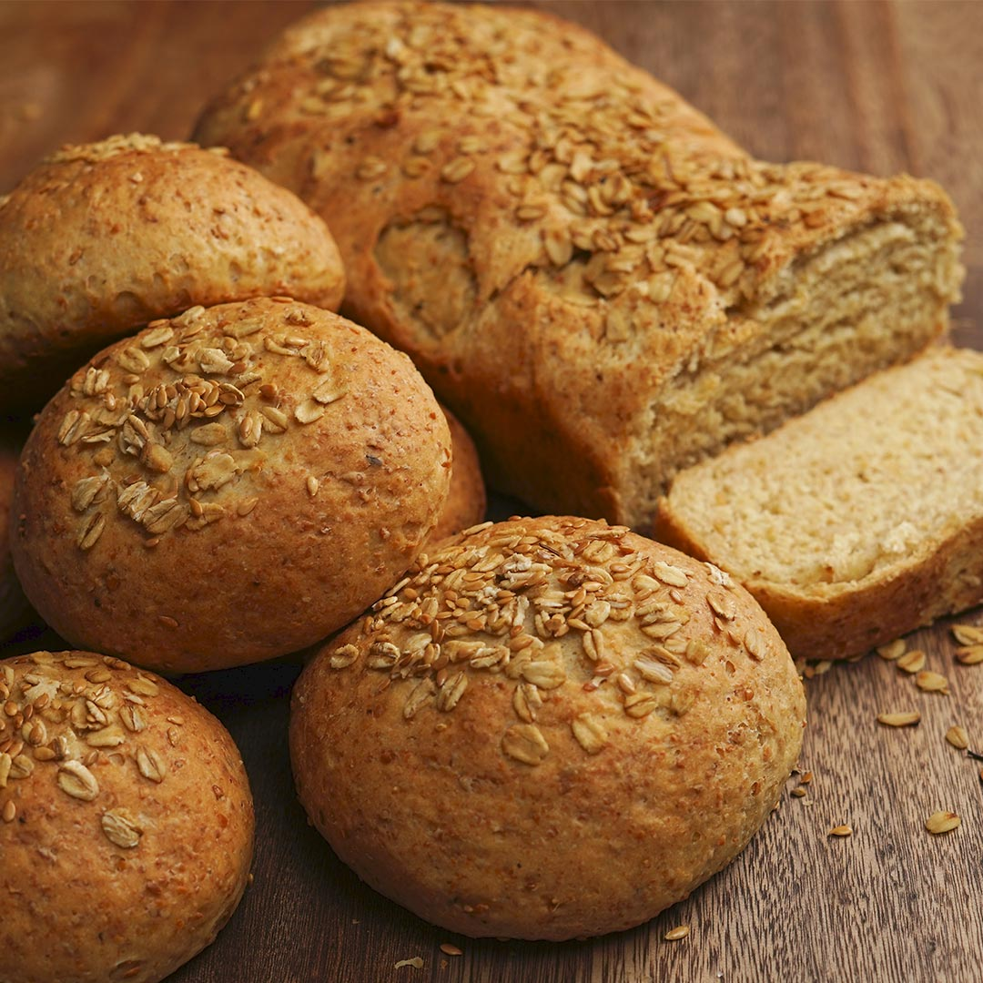 oats & flaxseed bread