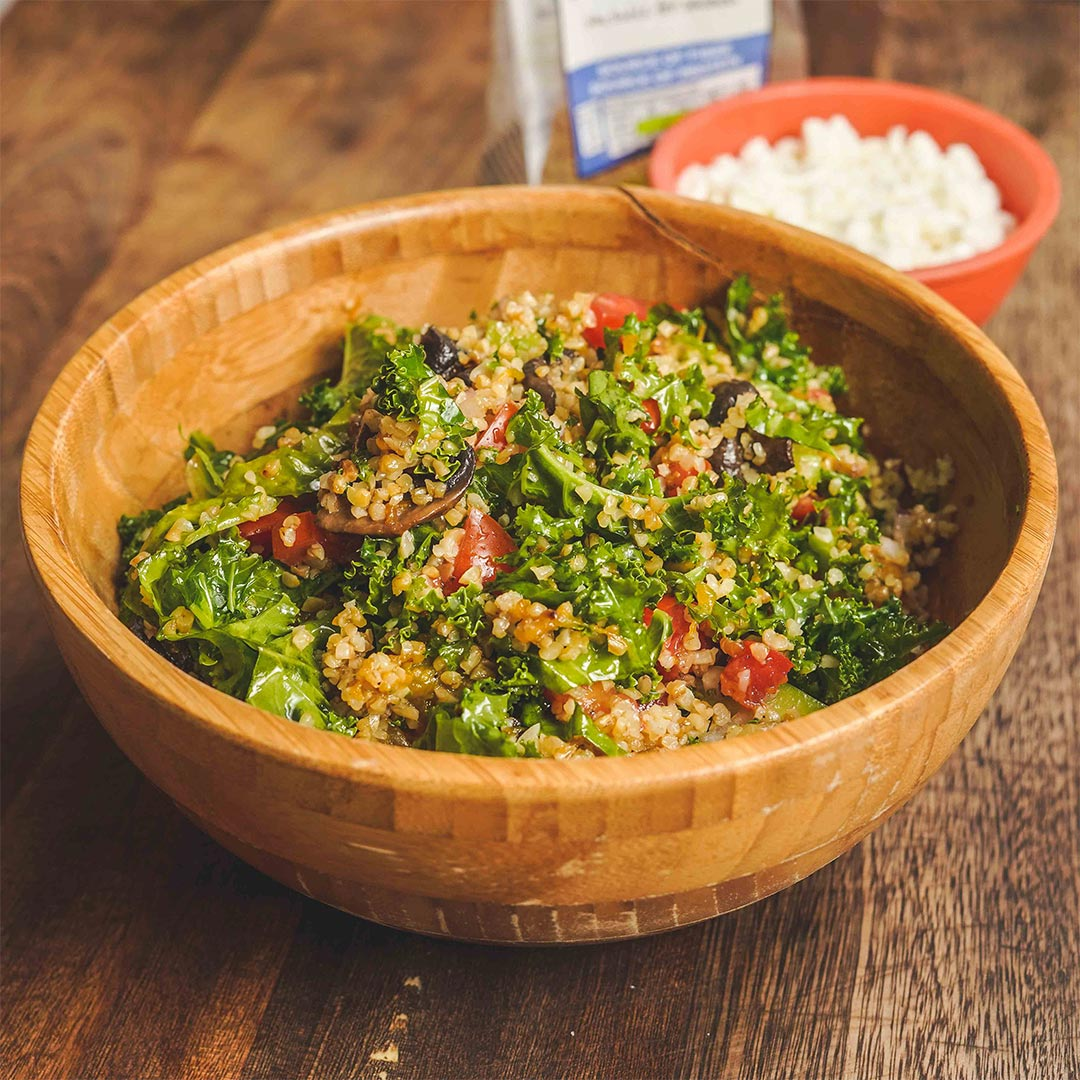 Roasted Vegetable Bulgar Salad