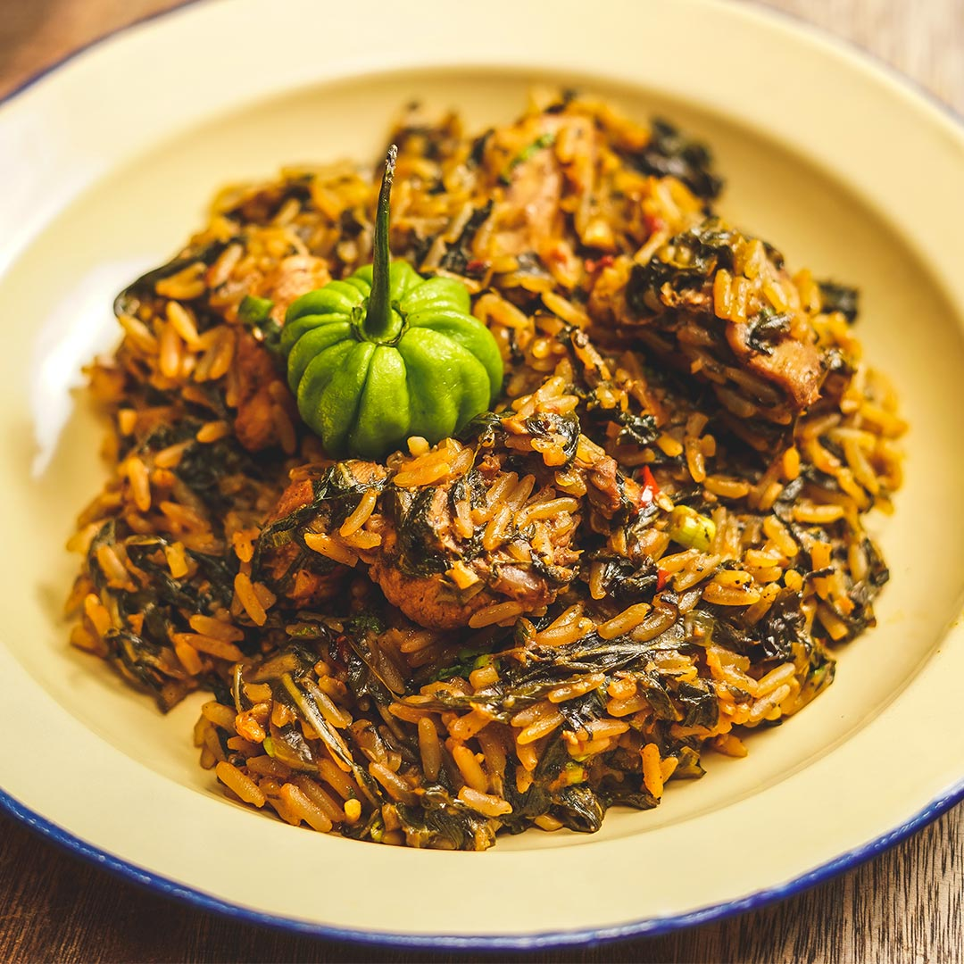 chicken bhagi rice