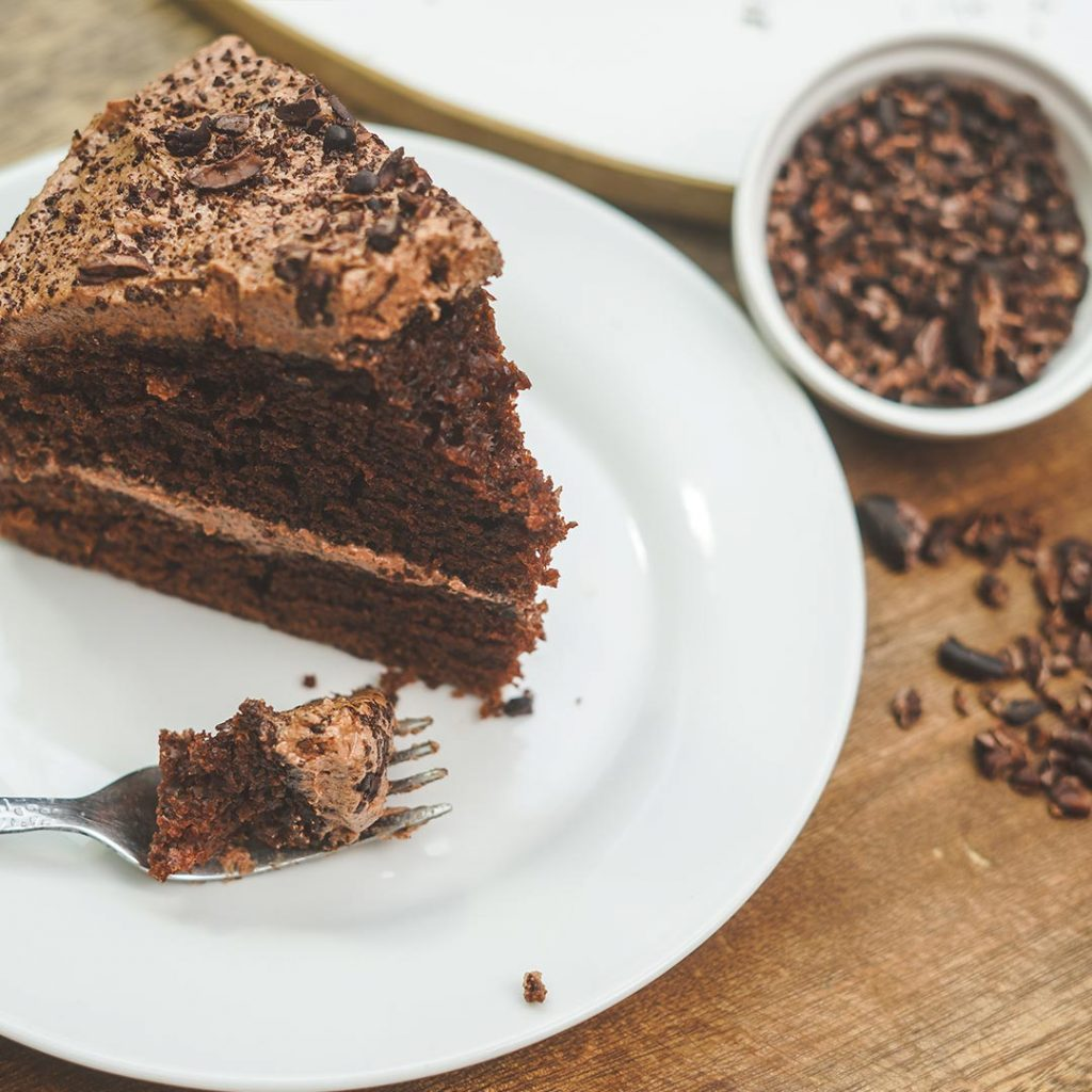 total local chocolate cake