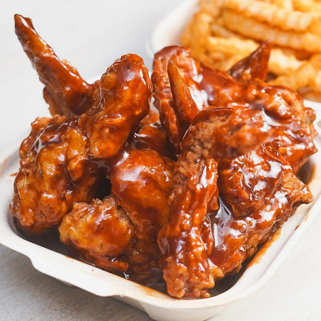 Guava BBQ Fried Wings